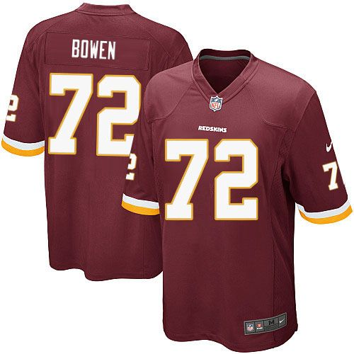 ... Youth Nike Washington Redskins 72 Stephen Bowen Limited Burgundy Red  Team Color NFL Jersey Sale Dallas Cowboys ... b3e63adc3