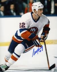 NHL History:  1983 - Mike Bossy (New York Islanders) became the first National Hockey League (NHL) player to score 60 goals in 3 consecutive seasons.     keepinitrealsports.tumblr.com    keepinitrealsports.wordpress.com
