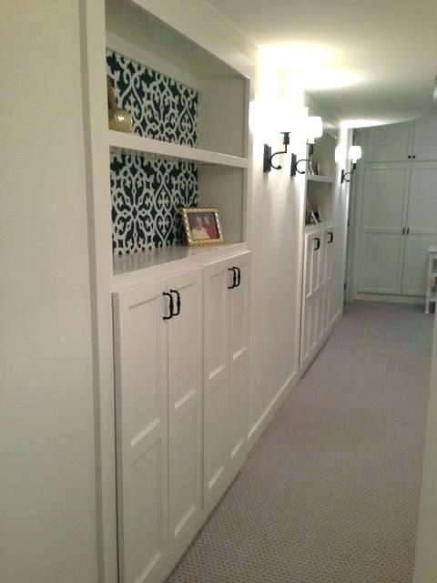 image result for small basement built in storage basement rh pinterest com Basement Storage Design Basement Storage Design