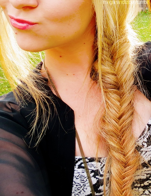 Fishtail braids are the best <3 #summer #lizmace #meganandliz #style #fashion #trends #hair #beauty