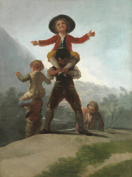 Goya en El Prado: Las gigantillas