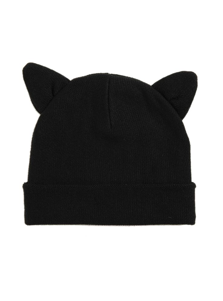 Beanies. Beanies. Beanies, I absolutely love beanies, and the cat ears on this one is so cute and simple, pair it with a pair of blue or black jeans, a bold shirt and a pair of black converse and you are good to go!