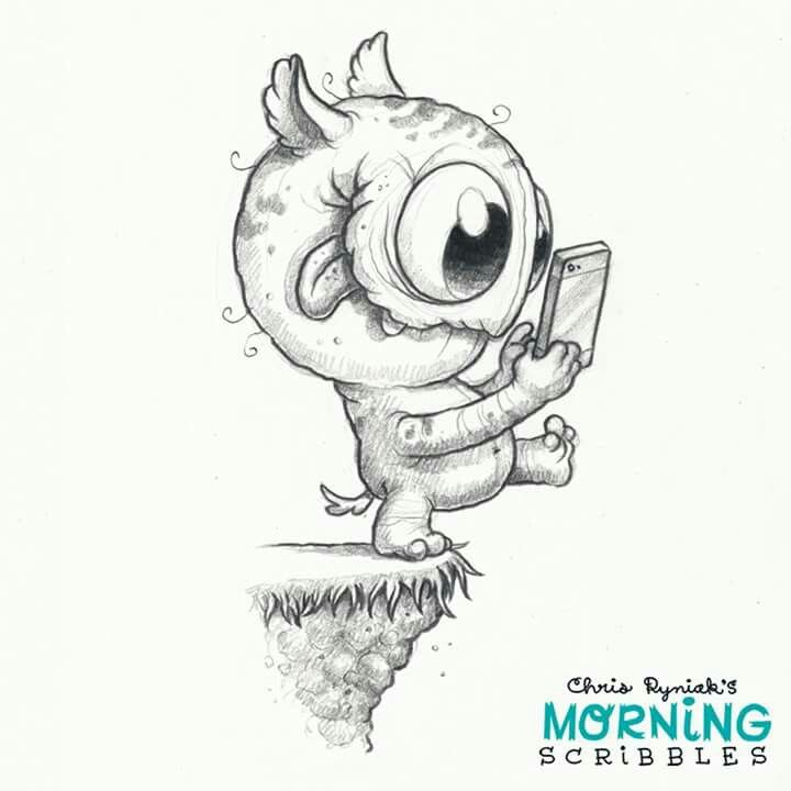 Scribble Monster Drawing : Best images about cool doodles on pinterest coloring