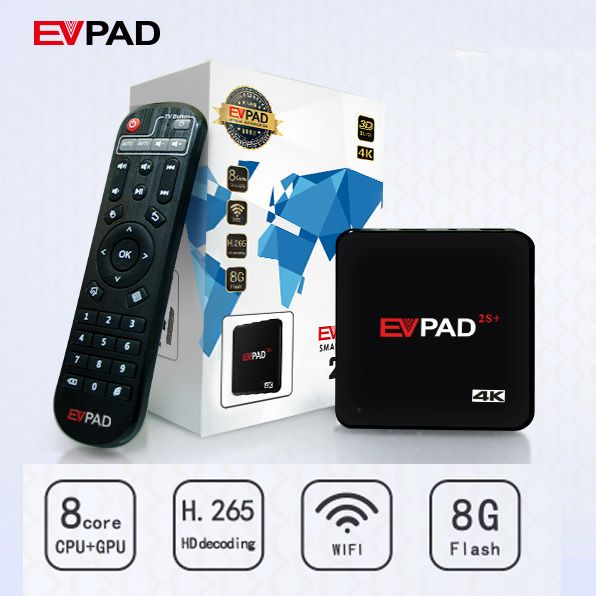 Evpad 2s Korean Japanese Android TV Box 1000 Free Live Channel Asian