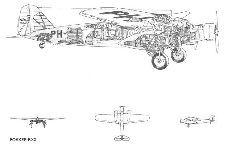 fokker f xx | Fokker F.XX