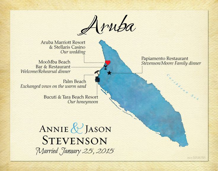 Custom Map of Aruba, Unique Anniversary Gift, Personalized Wedding Present, Gift for Spouse, Custom Map Art Print by KeepsakeMaps on Etsy #ArubaMap #WeddingGift #AnniversaryPresent #MapArtPrint #KeepsakeMap #TravelJournalPrint