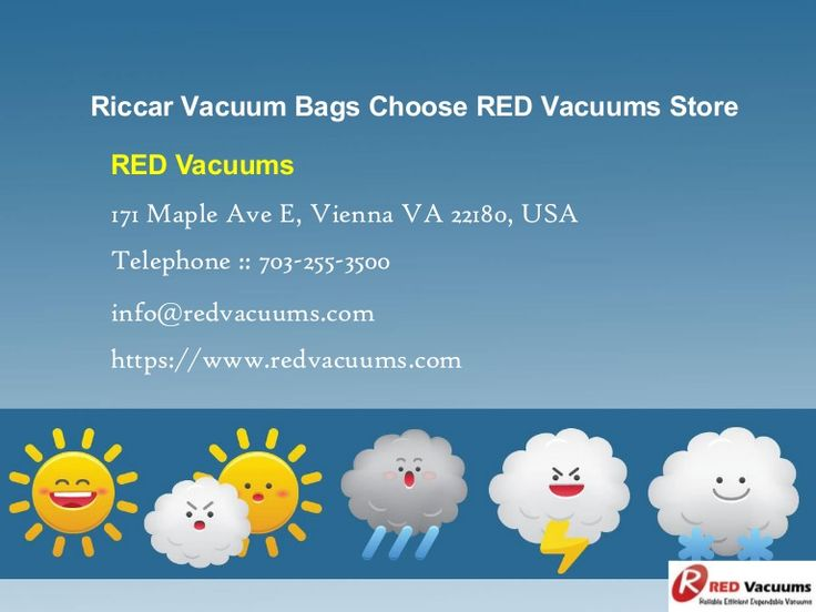 Riccar Vacuum Bags Choose RED Vacuums Store >>> RED Vacuums is one of…