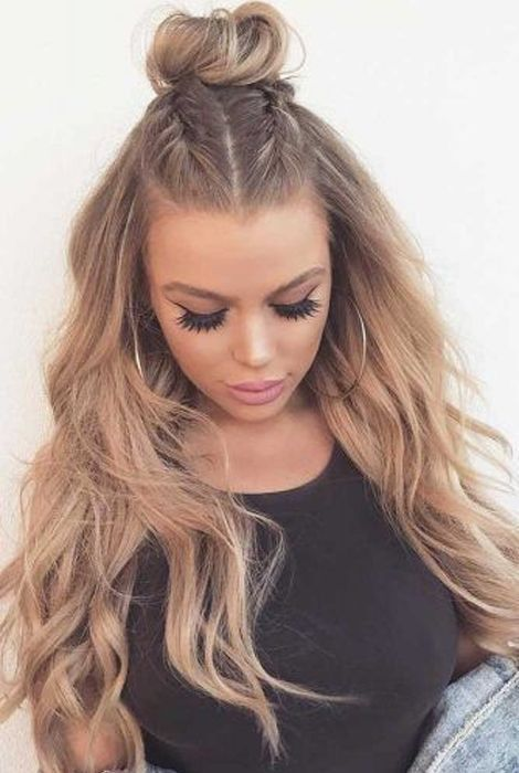 Trendy Long Hairstyles for Women to Try in 2019 | Fur-frauen.com |  #langefrisur…