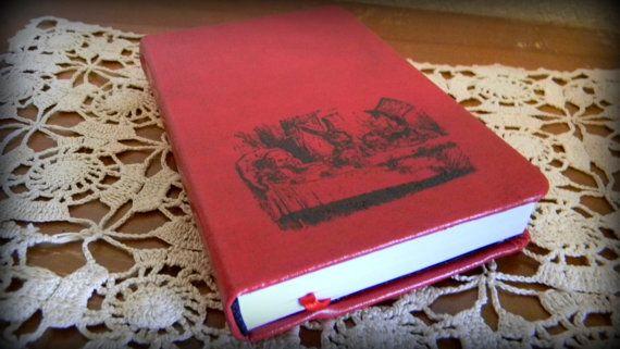 Alice In Wonderland Journal Sketch Book by CrimsonHollow on Etsy, $10.00