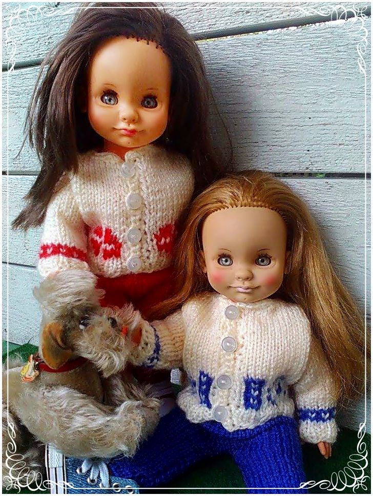 Maya dolls, from Ratti.