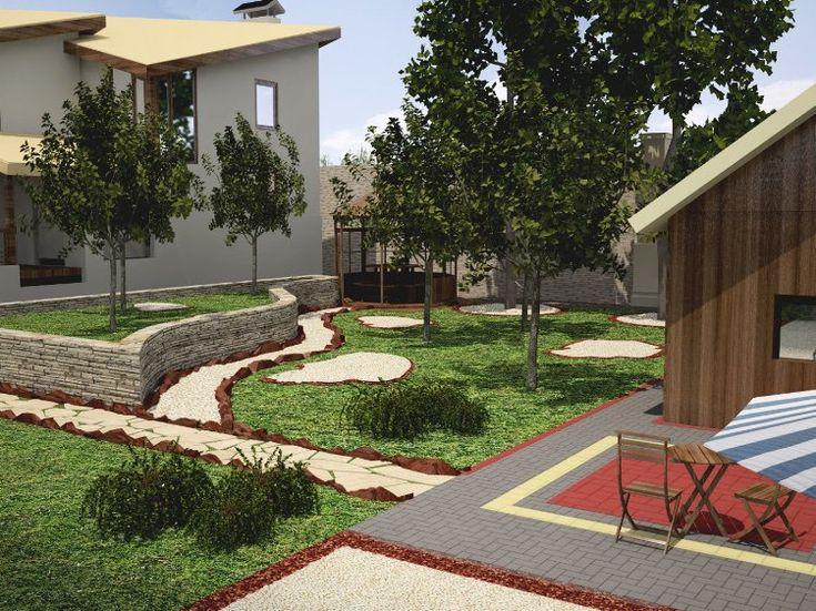 131 best PLANS MAISONS EXTERIEURS images on Pinterest My house - Logiciel De Maison 3d