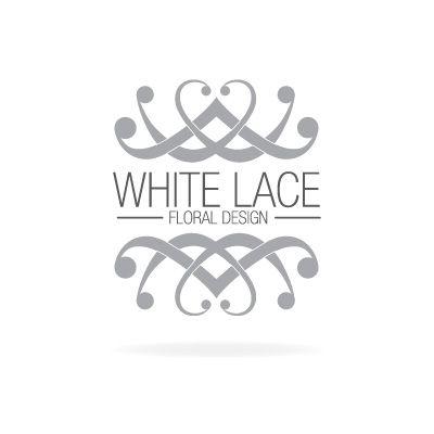 White Lace Floral Design - Logo Design