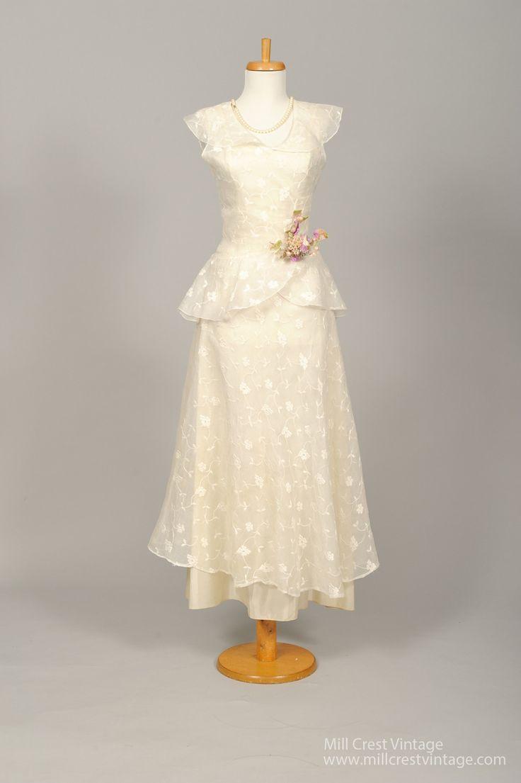 648 best Vintage dresses images on Pinterest | Vintage wedding ...
