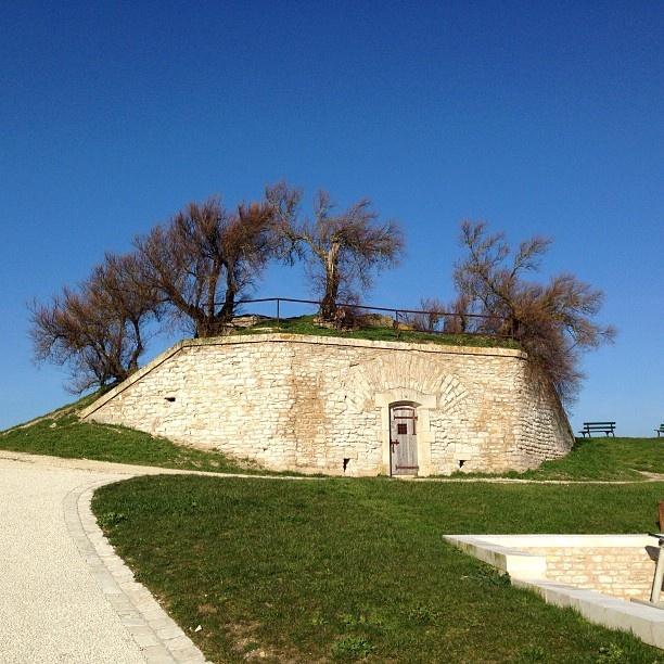 Part of the Saint-Martin Vauban fortification, listed by Unesco, Ile de Ré, Poitou-Charentes www.visit-poitou-charentes.com/en/La-Rochelle-Ile-de-Re/Ile-de-Re