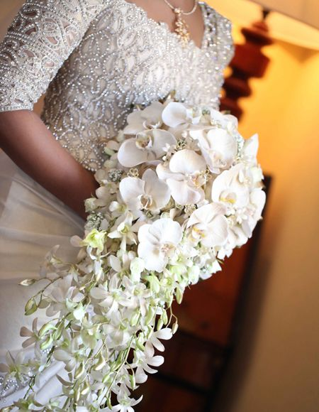 Purnima Abeyratne Sri Lankan Bridal Fashion Designer Flower BouquetsWedding
