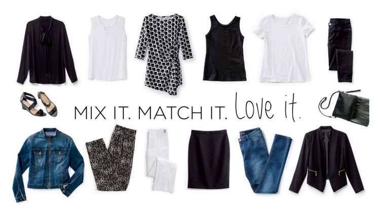 Mix it. Match it. Love it. 12 items endless looks.