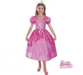 Disfraz de baile de gala pastel de Barbie para niñas