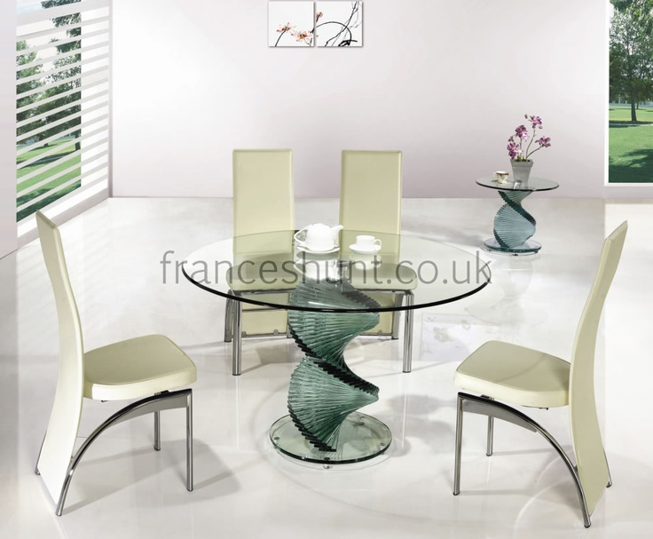 best Dining room table  on Pinterest  Glass dining table