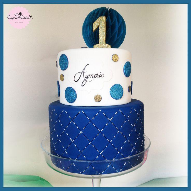 Gâteau pour le premier anniversaire du petit Aymeric