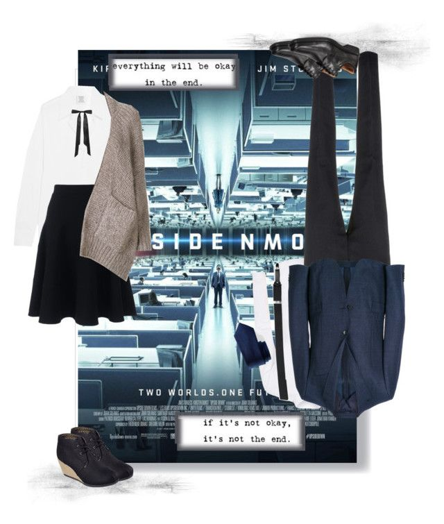 """""""Upside Down"""" by puggat ❤ liked on Polyvore featuring Topman, Florsheim, Ann Demeulemeester, BOSS Hugo Boss, Forsyth of Canada, Vetements, L. Erickson, Lands' End, Mes Demoiselles... and Skechers"""