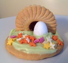 Prayer Stations - Edible Easter Garden. Was very popular last year.