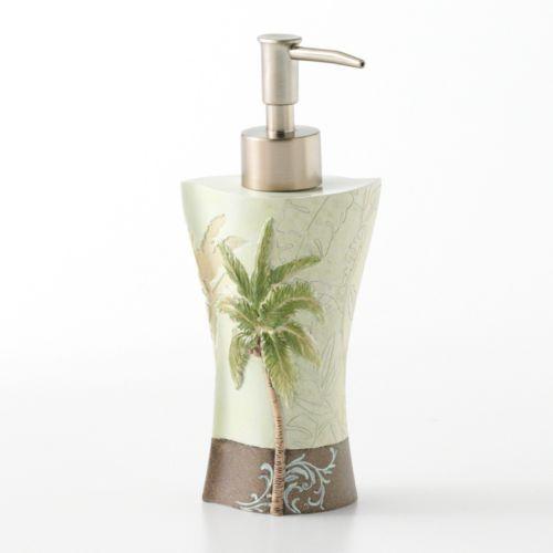 bacova palm collage lotion pump 080166870242 bath accessories at kohls this bacova palm