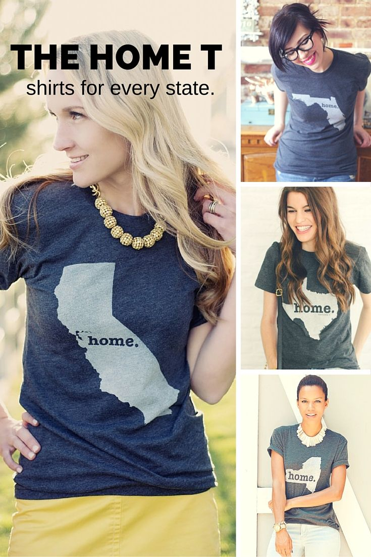 Hi, we're The Home T. We make insanely soft shirts that help you show off your state pride. They are Made in the USA and we donate 10% of profits to multiple sclerosis research.
