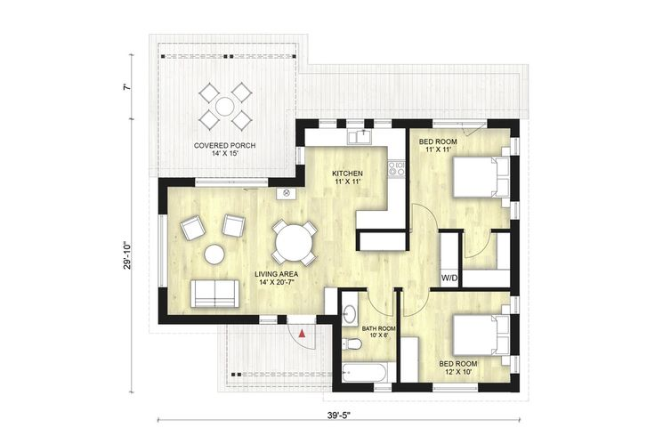 104 best images about new house plans on pinterest house for 780 square feet house plan