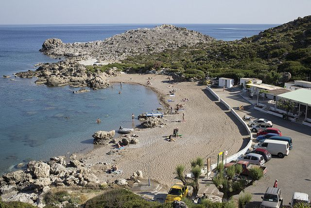 Wanna learn about the blue flag beaches of #Rhodes? Check out the article