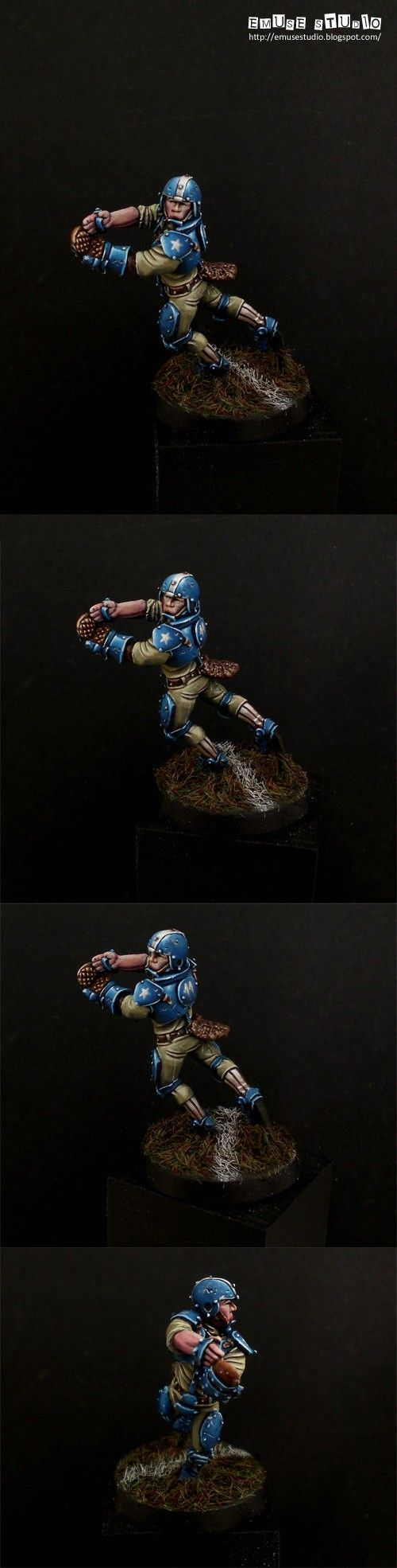 Blood Bowl Human Player.... with obvious Diving Catch skill?