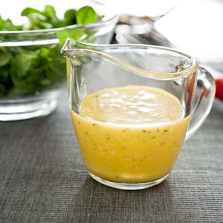 медово горчичный соус для салата рецепт с фото