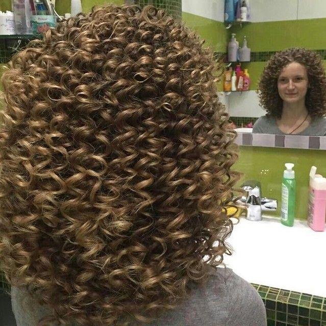 Just Permed Short Permed Hair Spiral Perm Long Hair Permed Hairstyles