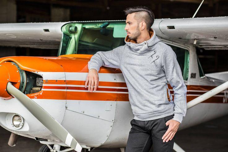 Stylish sweatshirt  http://www.wayfarer.cz/panske-mikiny