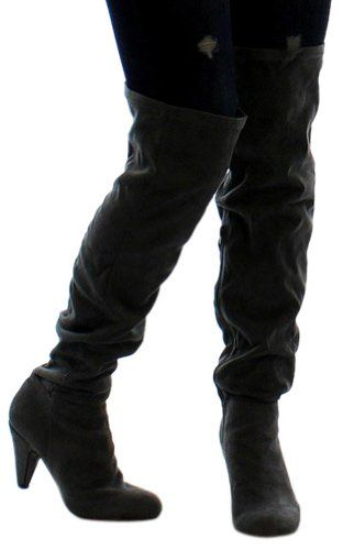 Hot Fashion Method 01 Women's Boots Over the Knee Gray Size 6 Qupid http://www.amazon.ca/dp/B00GCQASJO/ref=cm_sw_r_pi_dp_Kc6mwb105MNRE