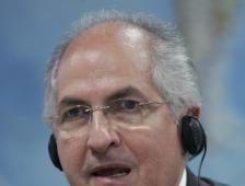 Exalcalde de Caracas huye de arresto domiciliario a Colombia - El Financiero