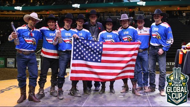 Professional Bull Riders - Team USA wins Inaugural PBR Global Cup