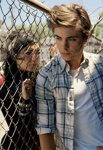 Not a fan of the drama in this photo but maybe if they were kissing through the fence, that'd be cute