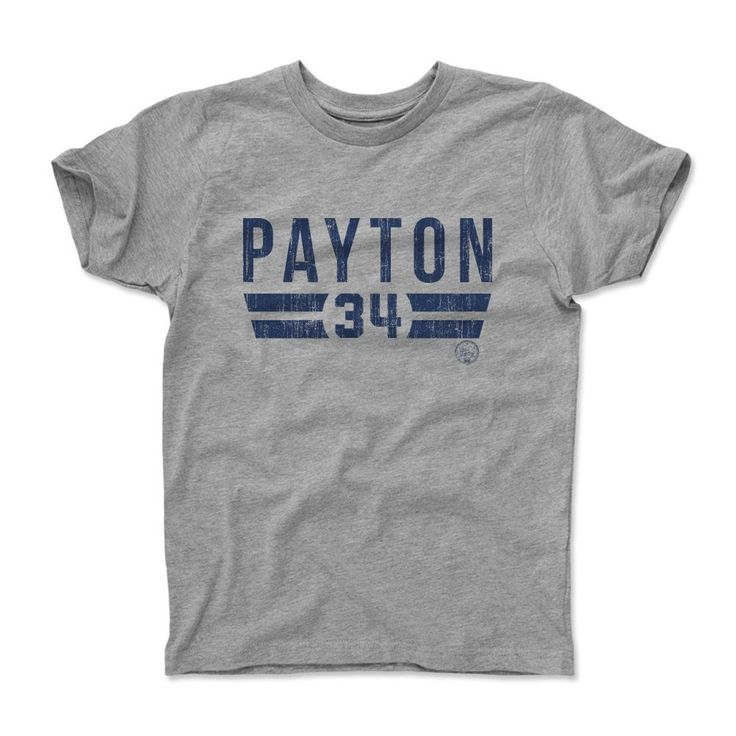 Walter Payton Font B Chicago Officially Licensed Toddler and Youth T-Shirts 2-12 Years