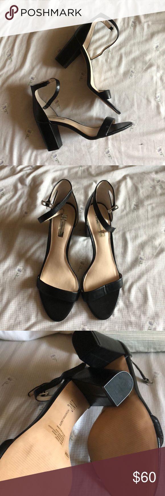 INC Single Sole Heel - Size 10 INC Single Sole Heel - Size 10 Never Worn. Do not have the original box. 3 inch block heel INC International Concepts Shoes Heels