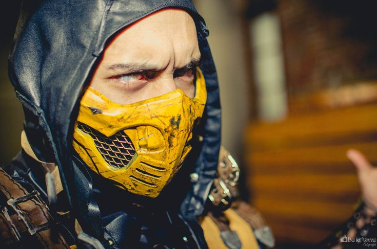 Scorpion (MK),MK Fighters,Mortal Kombat,Мортал Комбат, Mortal Combat,фэндомы,MK Cosplay