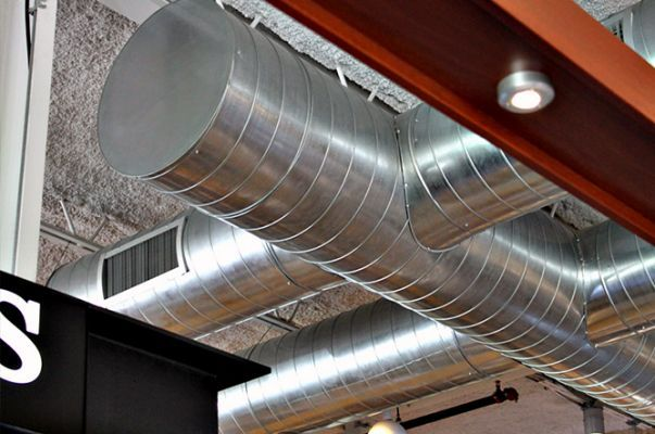 Best images about exposed ductwork on pinterest