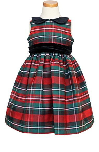Sorbet Green Plaid Dress (Big Girls) available at #Nordstrom