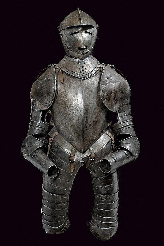 A Cuirasser Half Armour France 17th Century Ancient Armor