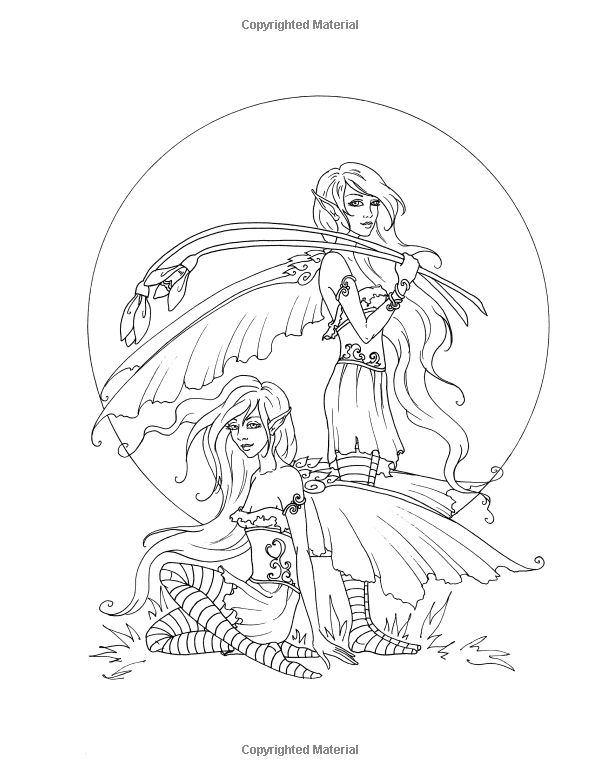 amy brown coloring pages free - photo#10