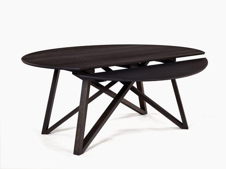 Jaja hij is eindelijk binnen komen vliegen! De Wing bij Gust Koyen, in amper vier seconden kun je de rechthoekige tafel omvormen tot een ronde tafel. Wil je deze pracht tafel nou in het echt bewonderen? Kom dan gezellig, de koffie staat klaar! #Colijninterieur