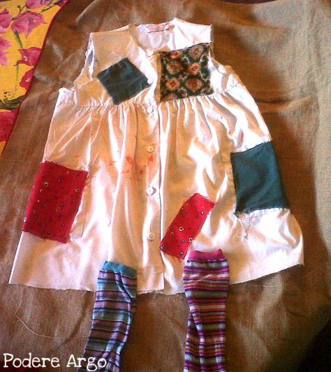 Costume PippiCalzelunghe fai da te #DIY