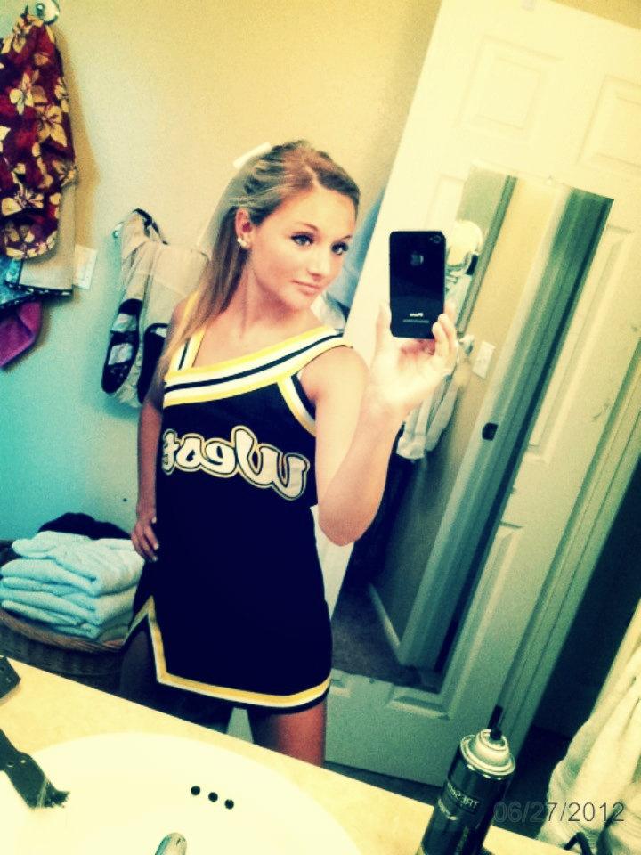 Cute contemporary, clean uniform | Cheer uniforms | Pinterest