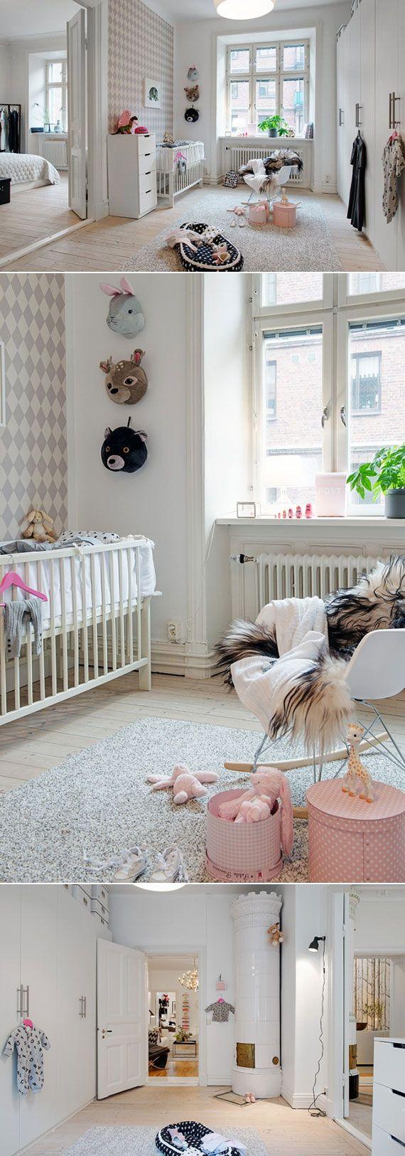 nursery inspiration  Baby Nursery  Pinterest  Baby girls, Girls and ...