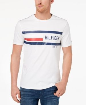 50d9ef951 TOMMY HILFIGER MEN'S LOGO-PRINT T-SHIRT. #tommyhilfiger #cloth ...