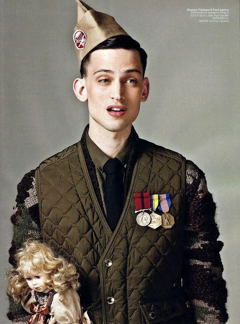 Military Portraits By Li Qi For Gq China Stylists Fashion Editorials And Portrait